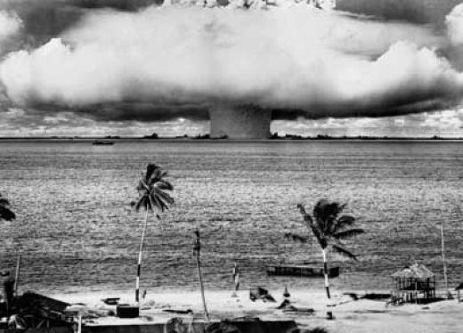 Nuclear Explosion at Bikini Atoll